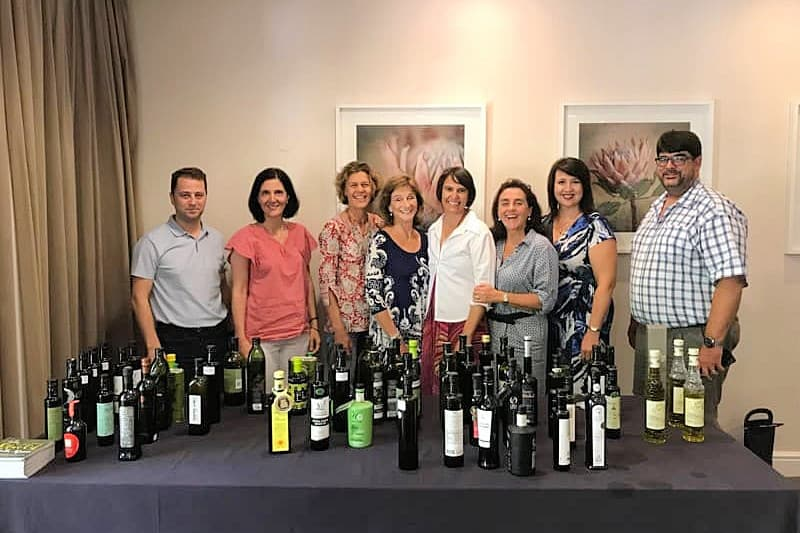 South African Olive Oil Tasting Team