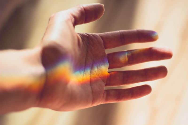 Open your hand